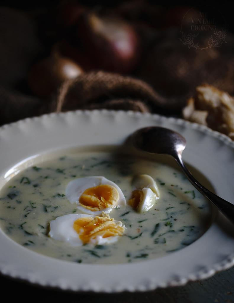 Creamy Soup from New Zealand spinach