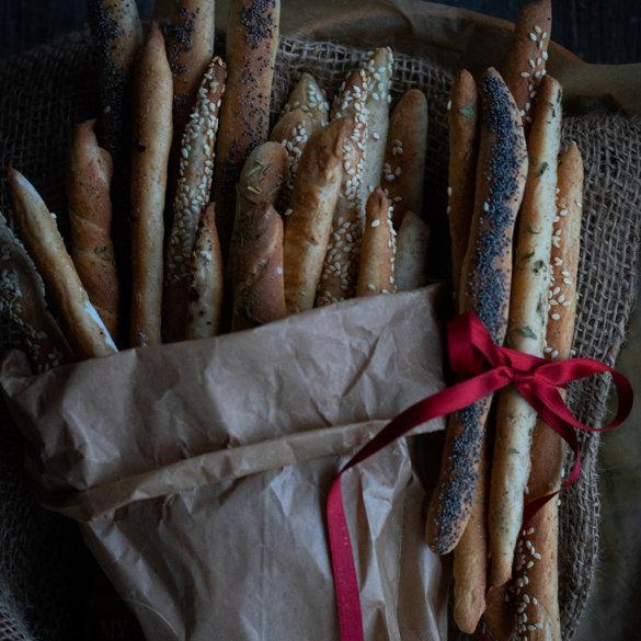 Homeamade bread sticks