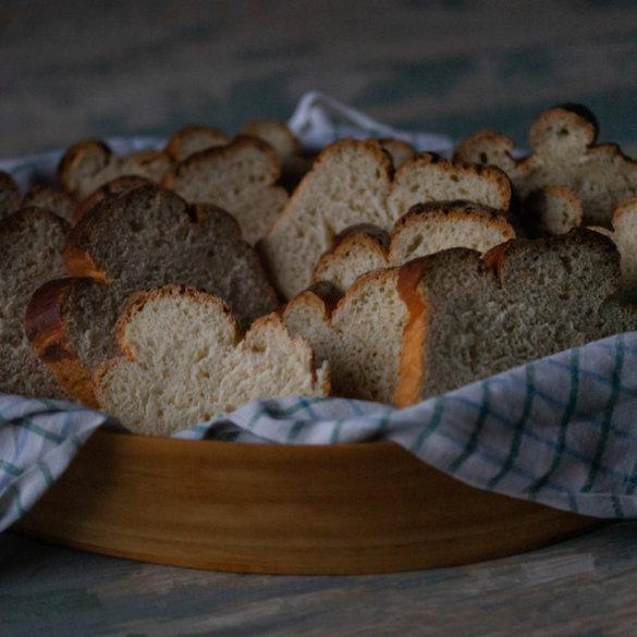 Buttery sandwich bread