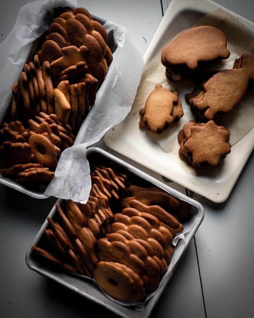 Vintage Gingerbread Cookie Recipe Paraisten piparkakut