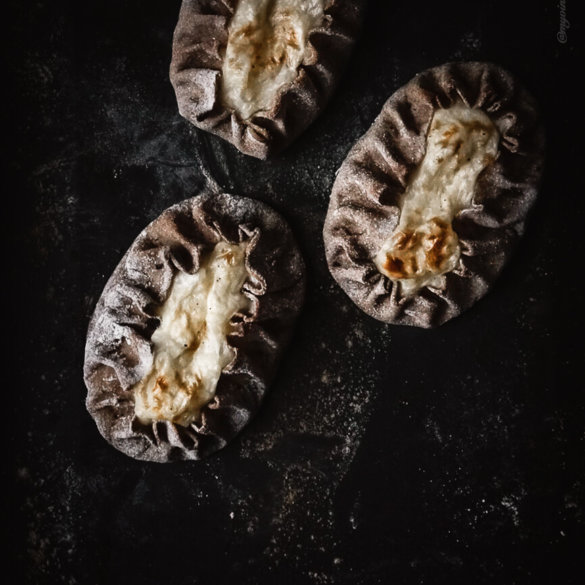 homemade karelian pasties with rice filling recipe
