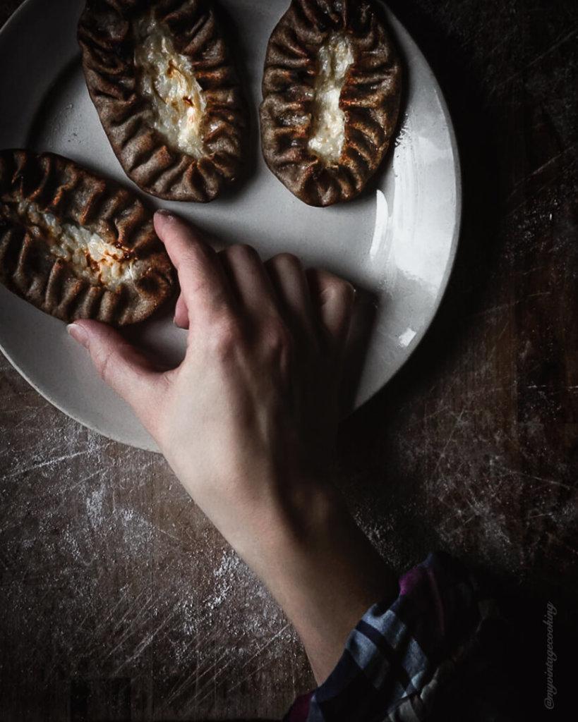 Homemade Karelian pies are the perfect snack