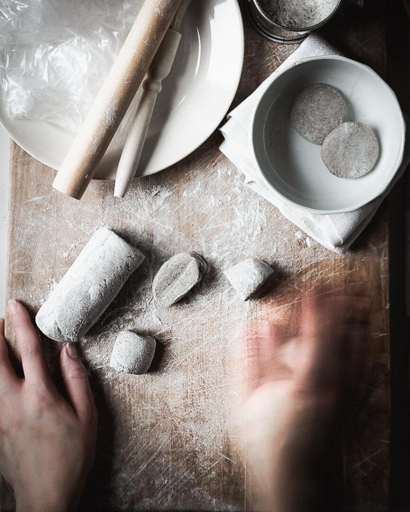 Rye dough needs to be smooth and rolling it carefully is the key